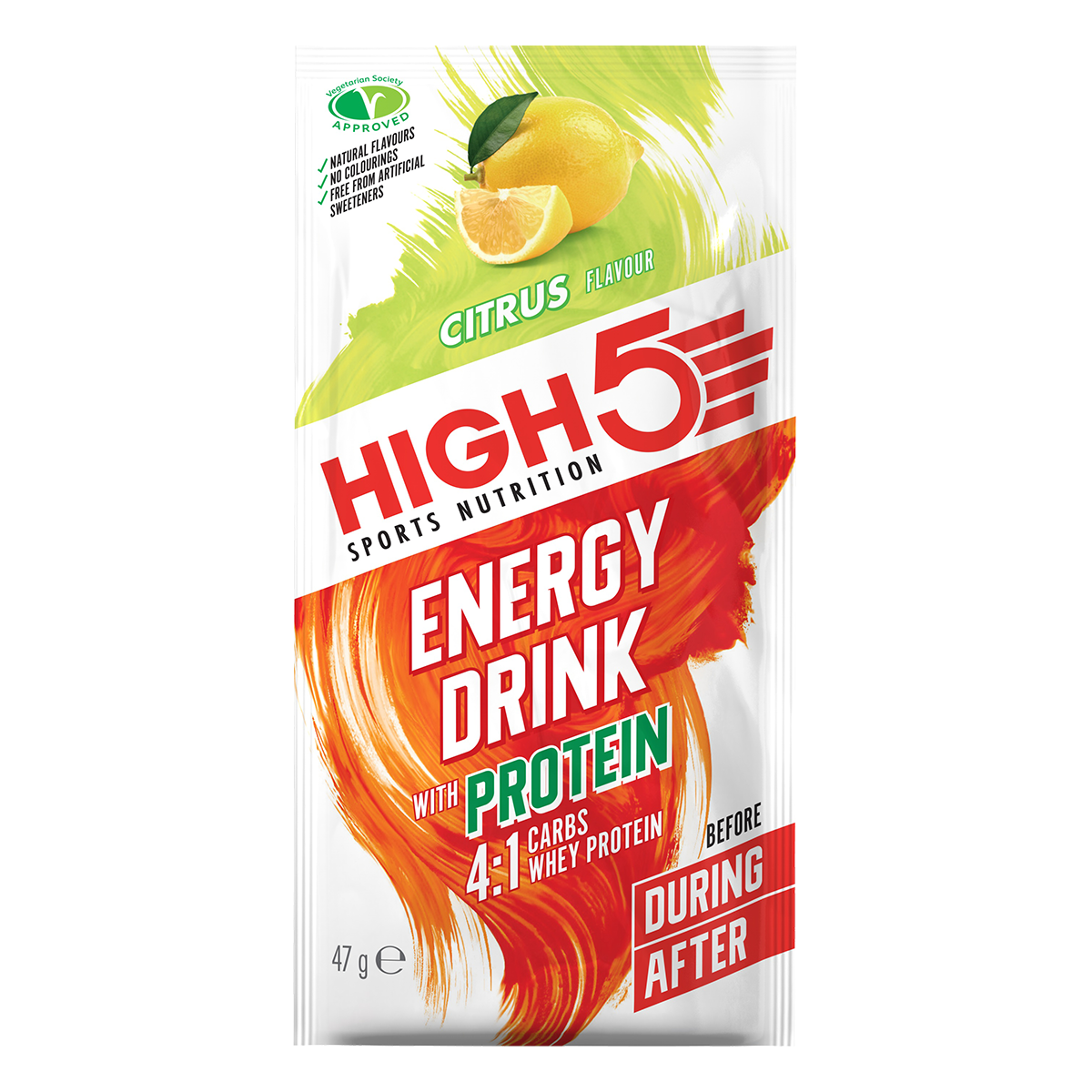 High5 4:1 Energy Source Italpor - Citrus ízű, 47 (g)