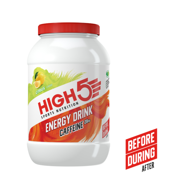High5 2:1 Energy Drink Caffeine - Citrom 2,2 (kg), (50 Adag)