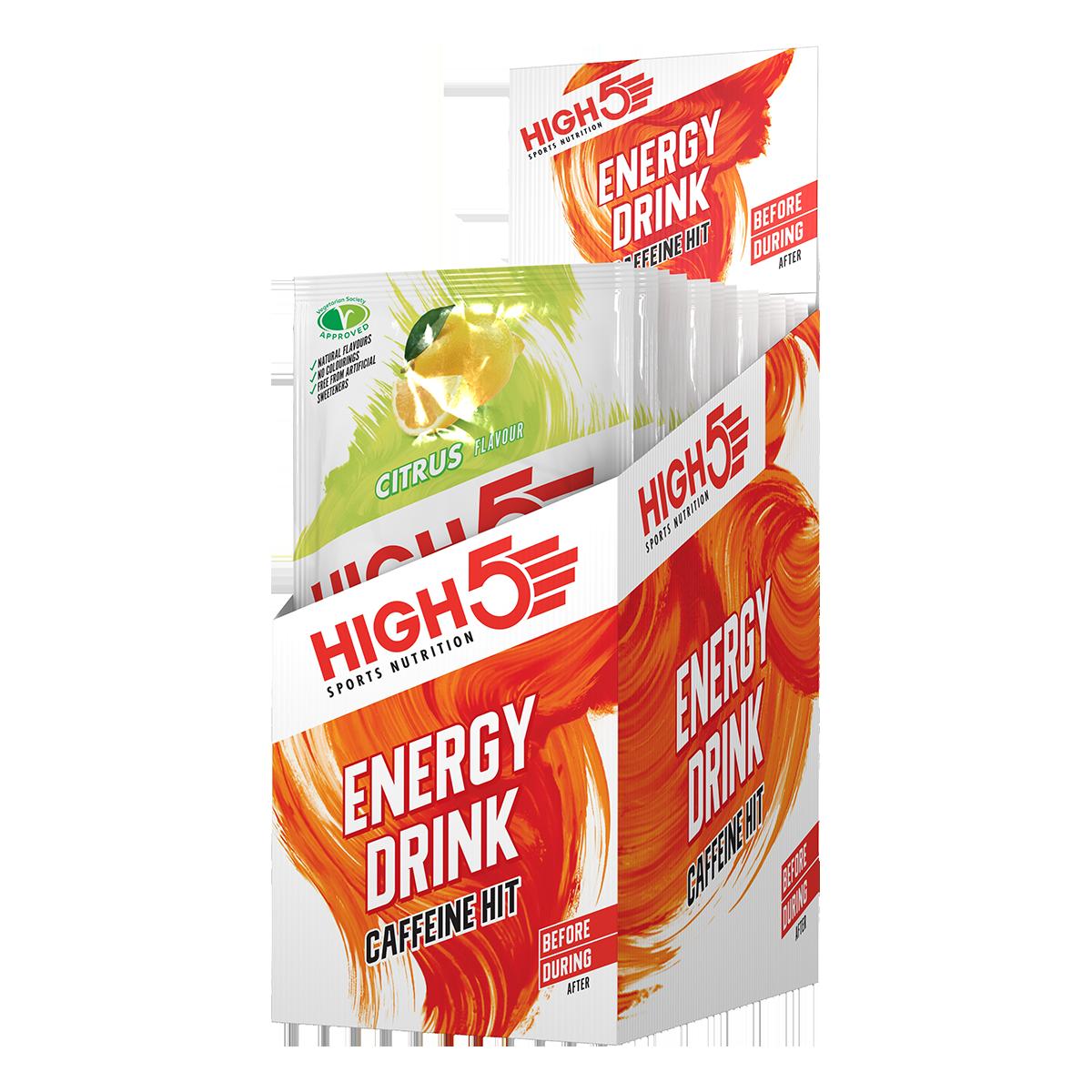 High5 2:1 Energy Drink Caffeine HIT (X'Treme) - Citrom ízű,12x47 (g)