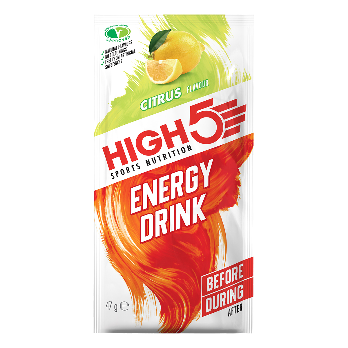 High5 2:1 Energy Drink - Citrom ízű, 47 (g)