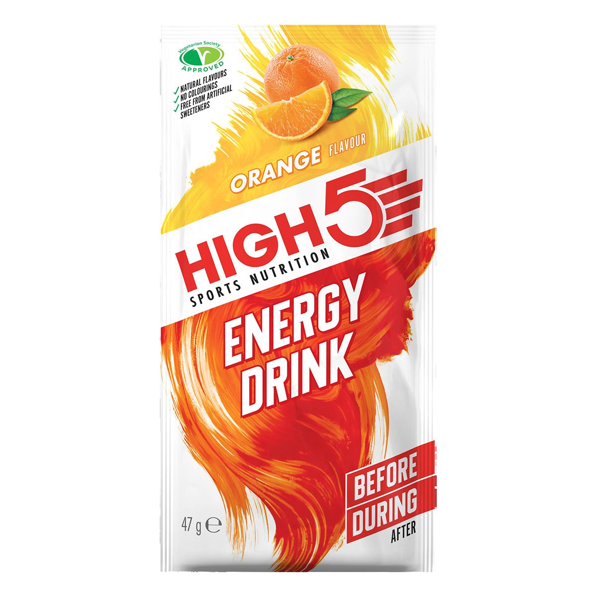 High5 2:1 Energy Drink - Narancs ízű, 47 (g)