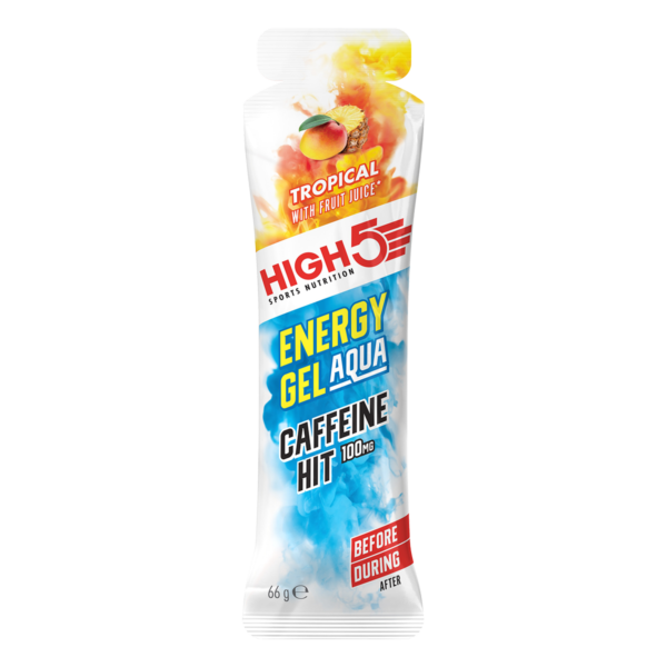 Energy Gel Aqua Caffeine HIT