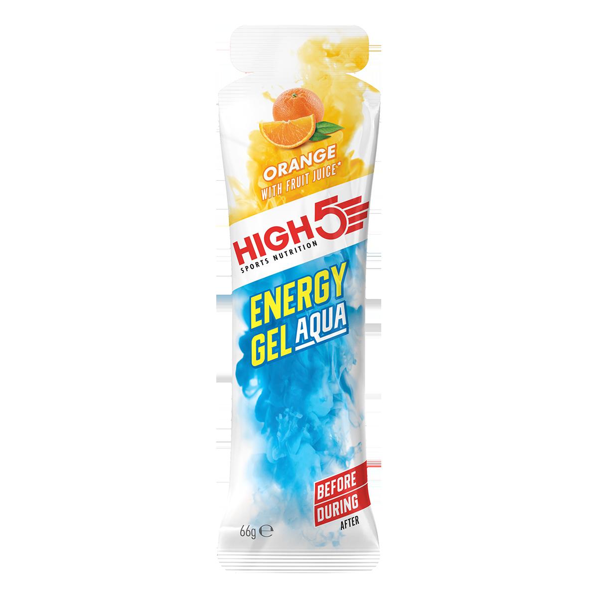 High5 (IsoGel) Energy Gel Aqua Narancs 66g