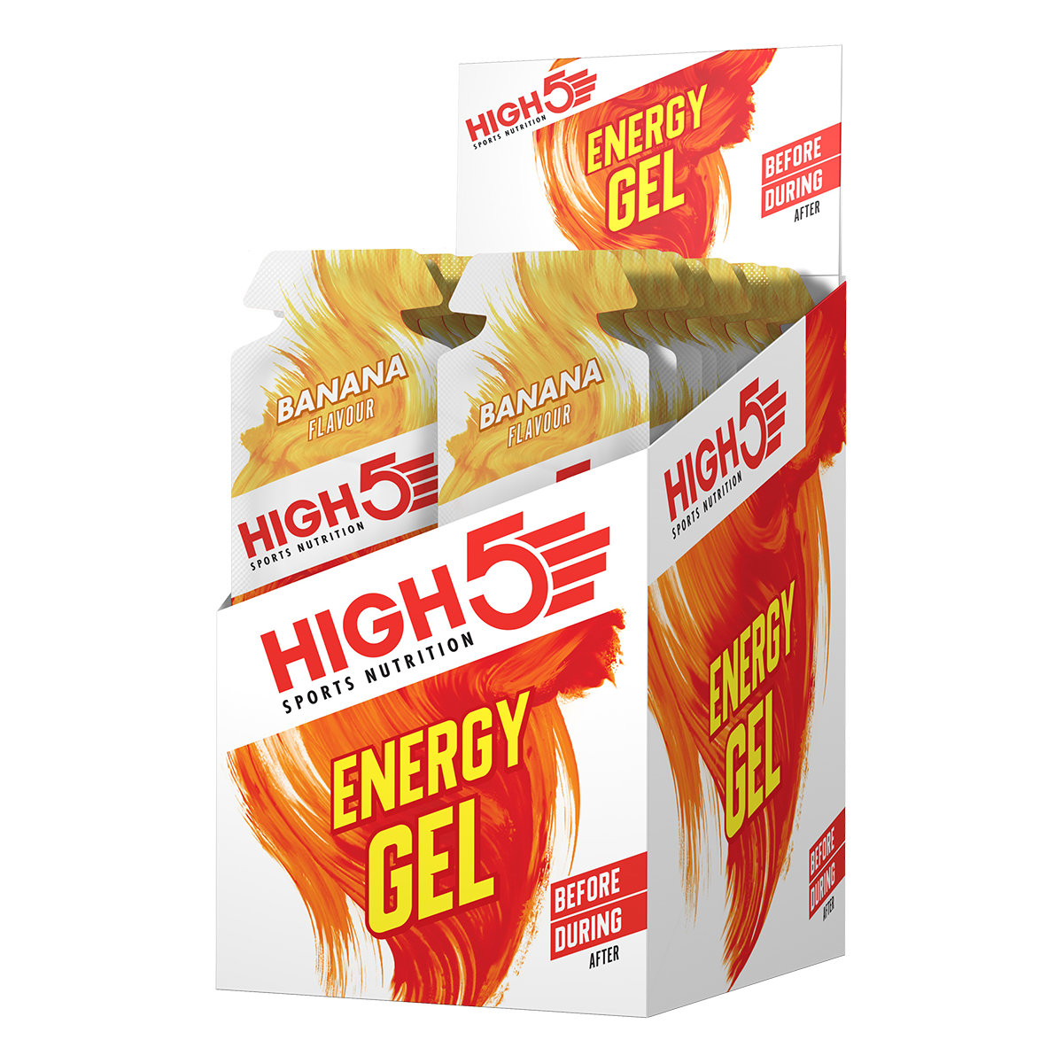 High5 Energy Gel - Banán ízű, 20x40 (g)