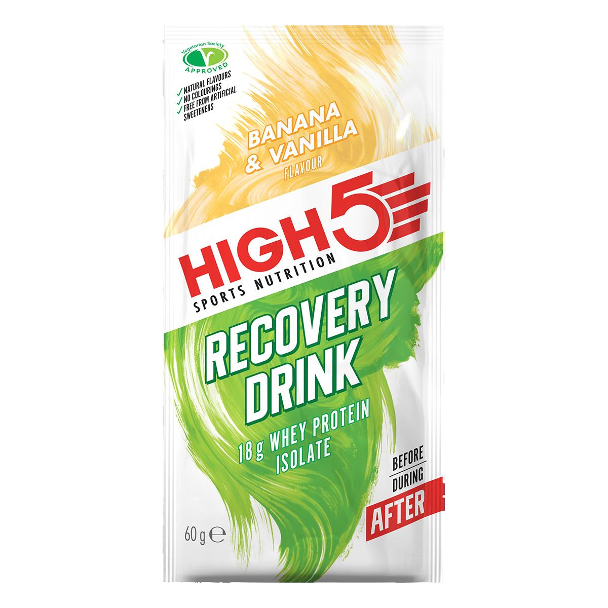 High5 Protein Recovery Drink - Banán/Vanilia ízű, 60 (g)