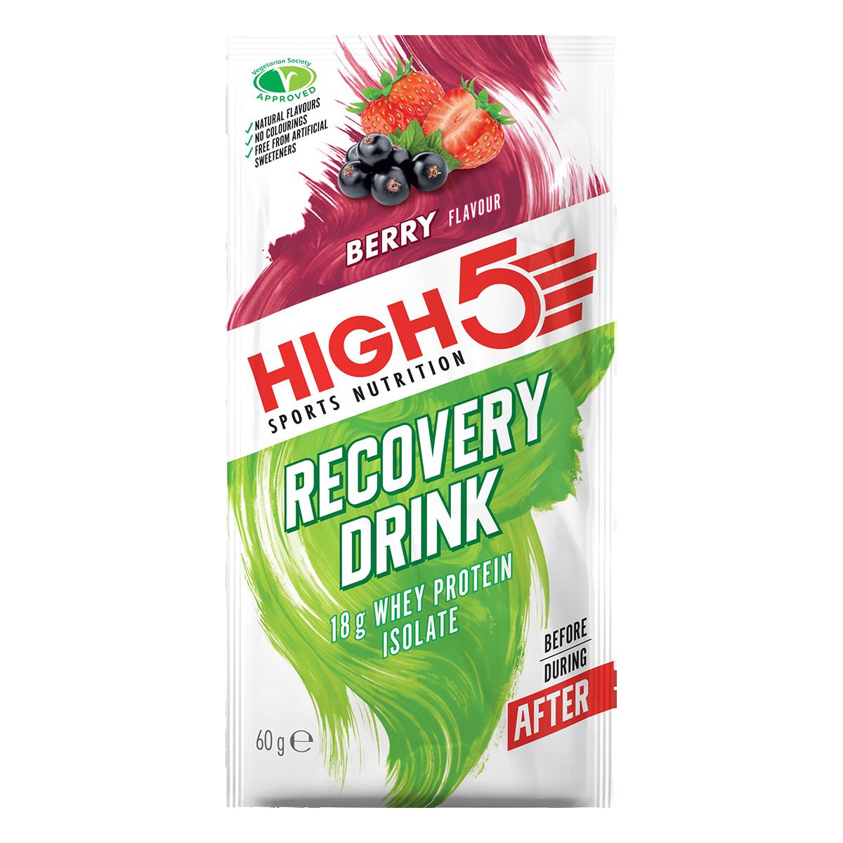 High5 Protein Recovery Drink - Nyárigyümölcs ízű, 9x60 (g)