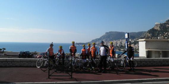"""Kerékpározz februárban Monte Carlo-ban! """"a bringás paradicsom"""""""