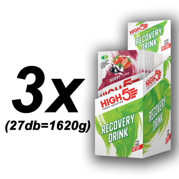 Recovery Drink Nyárigyümölcs 3x9db (1,62kg)